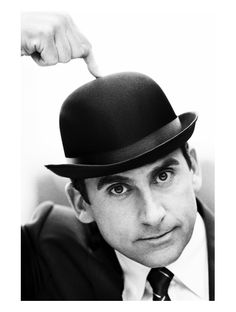 Steve Carell - Not a hunk o'rama...but I love a man with a sense of humor.