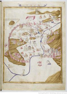 Rome - Claudius Ptolomaeus , Cosmographia , Jacobus Angelus interpres Auteur du texte: Claudius Ptolomaeus. Auteur : Jacobus Angelus. Traducteur 1451-1500