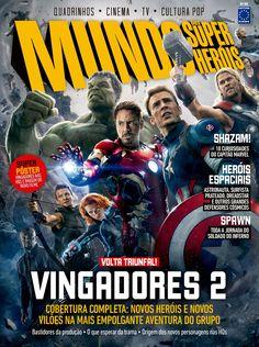 Tony Fernandes Estúdios Pégasus: NAS BANCAS: Os Vingadores 2 - Mundo dos Super-heró...