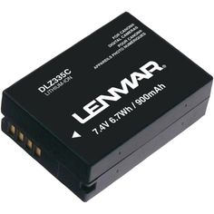 LENMAR DLZ335C Canon(R) NB-10L Camera Replacement Battery