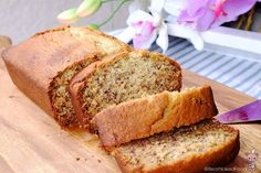 What's the difference between banana bread and cake? They are almost similar except a subtle difference in the taste and texture. Banana bread is not as sweet as banana cake and has a heavier and drier texture. Banana cake, being a cake, embraces the full sweetness of a dessert (of course, you could adjust the sugar level) and is generally lighter and moist.