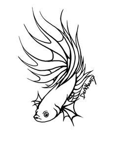 55 best fishhh images art techniques collage creative art Betta Fish Birthday betta tattoo ideas mermaid betta fish