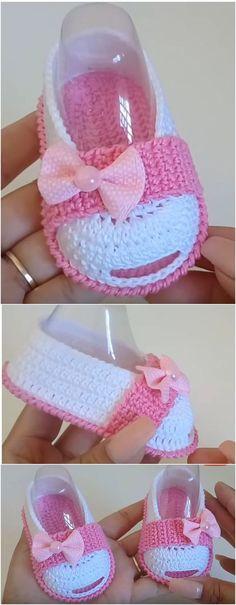 Crochet Super Cute Shoes For Baby Girl- Crochet Super Cute Shoes For Baby Girl . Crochet Super Cute Shoes For Baby Girl- Crochet Super Cute Shoes For Baby Girl Crochet Super Cute Shoes For Baby Girl Booties Crochet, Crochet Baby Sandals, Baby Girl Crochet, Crochet Shoes, Crochet Baby Booties, Love Crochet, Crochet Dolls, Knitted Baby, Newborn Crochet