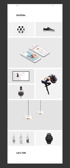 Nerduck - Minimal and Creative Portfolio Website on Behance