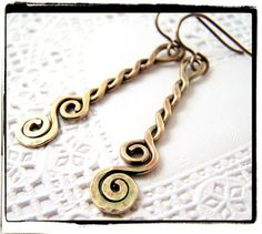 Antique brass is in! You wont find beautiful brass jewelry in stores. All of my pieces are beautiful, unique, and hand crafted with love in the USA.