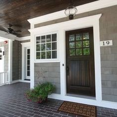 Small Traditional Farmhouse Exteriors Design Ideas, Pictures, Remodel, and Decor - page 81