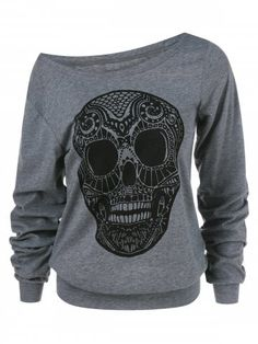 GET $50 NOW | Join RoseGal: Get YOUR $50 NOW!https://m.rosegal.com/plus-size-hoodies/skull-print-skew-collar-plus-1002605.html?seid=10977379rg1002605