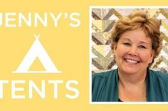 Jenny's Tents Quilt Tutorial
