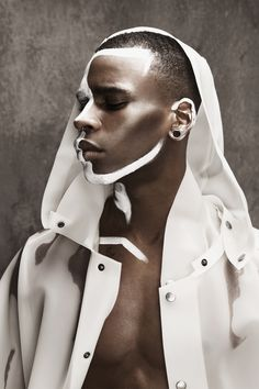 STYLENOIR Magazine by stephanie winger retouch, via Behance. Photographer Quentin Legallo. Model Axel Serine #fashion #editorial #portrait