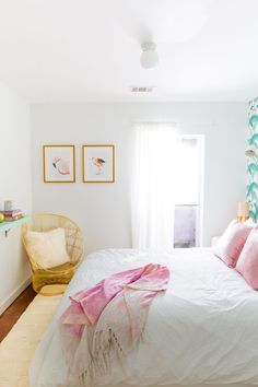 Sharing our guest room before & after weekend makeover that we squeezed in before the holidays! - sugar and cloth
