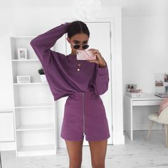"""Alicia Roddy på Instagram: """"Grape soda  wearing all @weekday_stores if you sign up to their newsletter this weekend on weekday.com you can get 20% off. #Spon"""""""