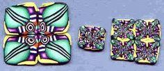 Geometric Canes August 2002 Polymer Clay Polyzine