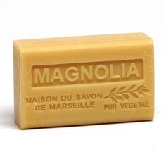 Maison du savon de marseille 125gr au beurre de karité bio- MAGNOLIA