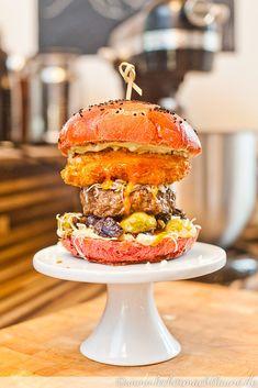 Der Herbstburger ist ein leckerer hausgemachter Burger mit vielen herbstlichen Zutaten. :)
