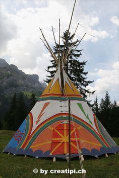 Elemente-Zeremonial-Tipi Outdoor Gear, Atelier, North America, Native Americans
