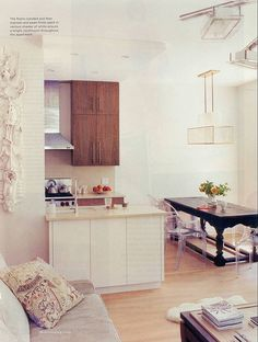kitchen & couch
