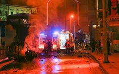 İstanbul Emniyet Müdürü Çalışkan: Patlayıcılar, saldırının arkasında devlet desteği olduğunu gösteriyor