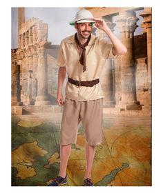 Disfraces de Explorador para Hombre Disfraz de Explorador para Adulto, incluye…