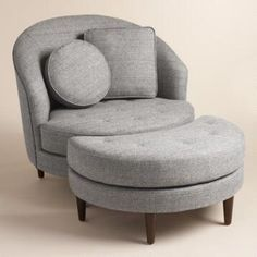 optional accent chair for master (if you go with grays over browns)