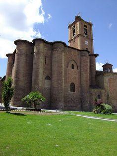 Monasterio Santa Maria la Real, Najera, La Rioja,Spain