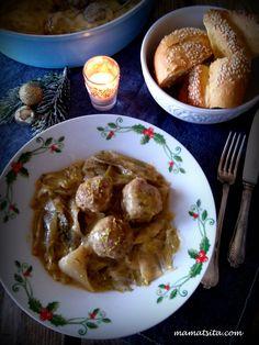 Κεφτεδακια με Πρασα Αυγολεμονο. Mince Meat, French Toast, Chicken, Cooking, Breakfast, Food, Kitchen, Morning Coffee, Essen