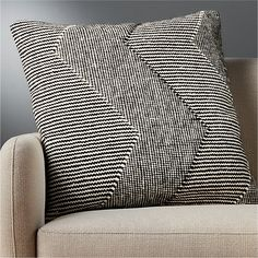 """23"""" Bias Pillow with Down-Alternative Insert + Reviews 