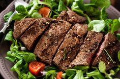 Cilantro-Lime Flank Steak Salad