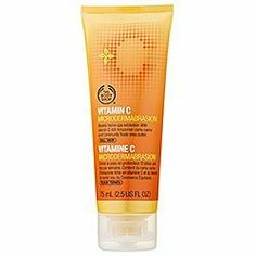 The Body Shop Vitamin C Microdermabrasion, 2.5-Fluid Ounce, http://www.amazon.com/dp/B003UYP49K/ref=cm_sw_r_pi_awdm_Cm-ftb0HFJSDY