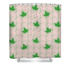 Looking for a unique shower curtain? Check out our Ivies and Pearl Fine Art Shower Curtain. Represent your sorority with pride! #alphakappaalpha #aka #aka1908 #sororirty...