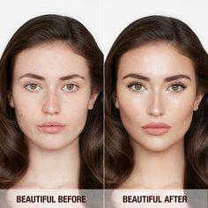 Natural Makeup Tips, Natural Makeup For Brown Eyes, Makeup For Pale Skin, Makeup Eyes, Makeup Kit, Contour For Pale Skin, Makeup Products, Oval Face Makeup, Highlight Contour Makeup