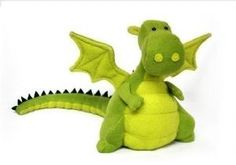 Yoki the memory dragon. Have ordered one of these to be made using some of Lyle's newborn babygrows. So cute.
