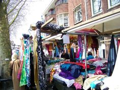 Lapjesmarkt or Fabric Market, Utrecht, The Netherlands has been going on for over 400 years!