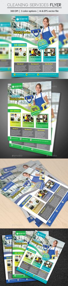 The 31 Best Cleaning Service Flyer Images On Pinterest Advertising