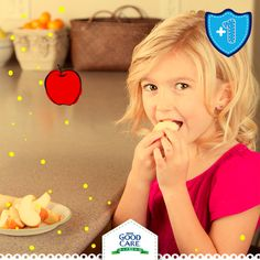Tu pequeño comerá frutas más fácilmente si se las das peladas y/o partidas.