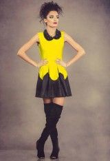 Rochie Kayla Galbena- www.zonia.ro Casual, Collection, Style, Fashion, Swag, Moda, Fashion Styles, Fashion Illustrations, Outfits