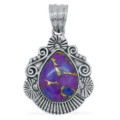 378 best purple turquoise jewelry images on pinterest turquoise liquidation channel affordable royal bali collection mojave purple turquoise pear pendant without chain aloadofball Gallery