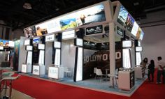 Arabian Travel Market 2014 ROSEWOOD #ExhibitionStands design and Contractor Contact us to book your stand at World Trade Center Dubai http://focusdirectexb.com/