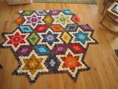Hexagon quilt | Flickr - Photo Sharing!