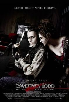 Sweeney Todd: The Demon Barber of Fleet Street (2007) movie #poster, #tshirt, #mousepad, #movieposters2