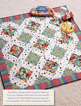 Baby Genius Digital Quilt Pattern from ShopFonsandPorter.com