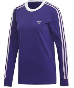 Adidas Mode, Longsleeve, Adidas Fashion, T Shirts With Sayings, Comfortable Fashion, Long Sleeve Tees, Tee Shirts, T Shirts For Women, Mens Tops