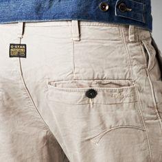 G-Star RAW - Bronson Chino 3d Loose Tapered Shorts  - Men - Shorts