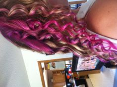 Dyed our hair :)