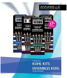 Custom Look Kohl Kits - Limited Edition! Kohls, Cosmetics, Kit