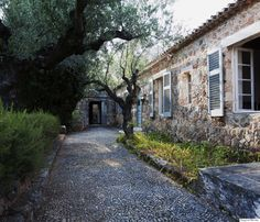 Patrick Leigh Fermor, The legendary writer and his Greek hideaway Patrick Leigh Fermor, Humble House, London Apartment, Greece, Diys, Beautiful Places, Landscape, Architecture, World