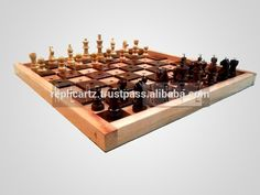 Special Blind People Chess Set