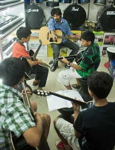 Ripple Baruah Workshop for Guitar Classes in Dwarka, New Delhi
