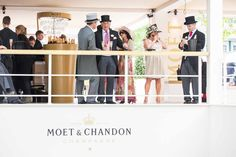 Moët & Chandon at Royal Ascot 2013 #moet #ascot #brandexperience #experiential #marketing #champagne