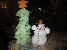 Вот так мы проводим с детьми время подготовки к Новому году. Игрушки сделаны своими руками. Snowman, Outdoor Decor, Home Decor, Decoration Home, Room Decor, Snowmen, Home Interior Design, Home Decoration, Interior Design