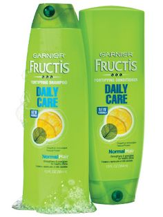 2012 InStyle Best Beauty Buys - Best Inexpensive Shampoo/Conditioner - Garnier Fructis Daily Care